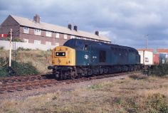A shot of 40168 xin LO at Aintree West Sidings mid Electric Locomotive, Diesel Locomotive, Interesting Photos, Cool Photos, Train Room, British Rail, Whistler, Diesel Engine, Liverpool