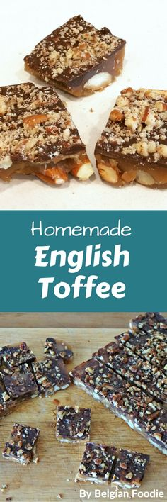 Make this yummy English toffee in 30 minutes for special occasion or a perfect holiday gift.