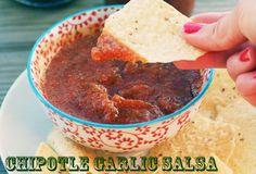 Chipotle Garlic Salsa - 10 Minute Prep!