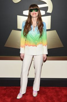 Pin for Later: Seht alle Stars bei den Grammys! Jenny Lewis