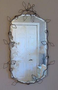 wire & mirror