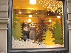 5th Ave Anthropologie Windows by space & structure, via Flickr