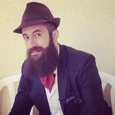 #beard #bearded #beards #lebanesebeard #envybeards  #bilf #fearthebeard #growabeard #suits  #suitup #thebeardedpantiedroppers #jointhebeard #bearded_n_brave #suspenders #brave_n_bearded #beardgang #beardporn #beardstagram #beards_lebanon #bandholz #thebeardlove #ascot