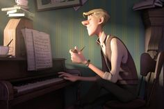 Roger by Leticia Reinaldo, via Behance