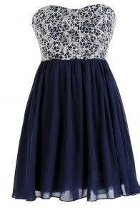 Stars In The Sky Sequin Lace Overlay Designer Dress by Minuet in Navy (Lots of cute dresses) Pretty Outfits, Pretty Dresses, Beautiful Dresses, Casual Dresses, Short Dresses, Formal Dresses, Teen Dresses, Dresses Dresses, Summer Dresses