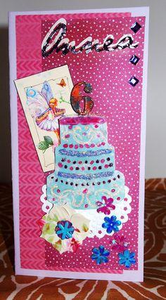 Kakkukortti ja kukkakorvakorut