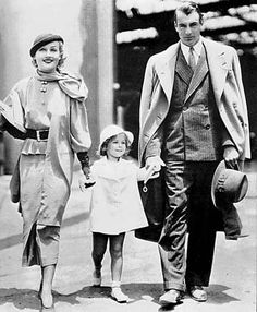 Carole Lombard, Shirley Temple and Gary Cooper.