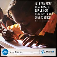 Social awareness campaign on Global Access to Education for Girls for Chase Community Giving