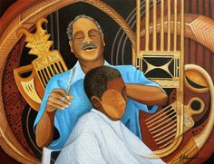 Marcell Hayes Muhammad, 'Barbershop-Wisdom'