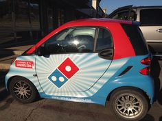 "Oxymoron to the second power!! ""Smart Car"" & ""Dominoes Pizza"""