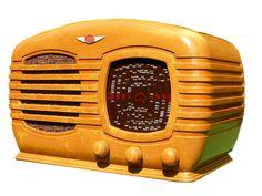 Butterscotch Bakelite Tasma Radio