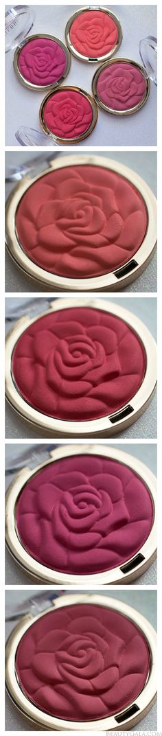 Milani Limited Edition Rose Powder Blushes, coming March 2014! @Sheila -- -- -- -- Milani Cosmetics get them