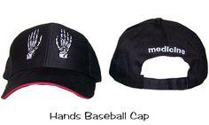 Hands Baseball Cap Medicine MD ER