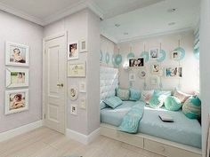 Exciting Teen Girl Bedrooms example 2398881450 - Uncomplicated and exceptional teen room decor examples and inspirations. For other spectacular decor designs please pop to the pin image now. Home, Home Bedroom, Dream Bedroom, Bedroom Interior, Teenage Bedroom, Small Bedroom, Girl Bedroom Decor, Bedroom, Dream Rooms