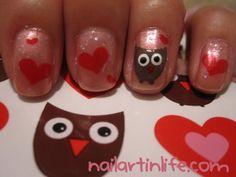 Owls & hearts!