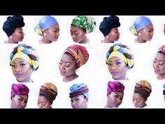 How to Slay & Rock Head Wrap -- 9 Different Ways - YouTube