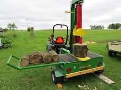 My Homebuilt Left Handed Vertical Log Splitter Woods Equipment, Heavy Equipment, Welding Projects, Projects To Try, Homemade Bandsaw Mill, Grid Tool, Chainsaw Mill, Log Splitter, Metal Fab