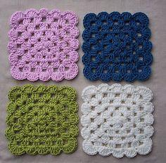Square Crochet Coasters