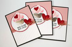 Stampin' Up! Sealed with Love Sweet Cupcake Valentine