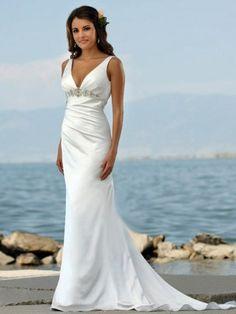 Dress For Beach Wedding Vow Renewal