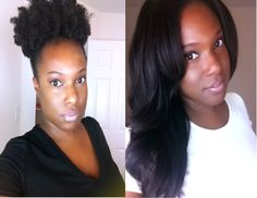Natural Hair: How I Care for My Natural Hair While Wearing Wigs {3 Month...