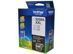 Cartucho Brother LC509BK - Preto com as melhores condições você encontra no Magazine Jbtekinformatica. Confira!