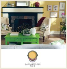 Colorfully Behr Color Of The Month Yellow Rooms Walls