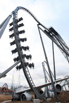 THE SWARM Thorpe Park... BEST. RIDE. EVER!!