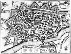 Ulm, Germany - 1643 - Merian