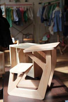 un bureau pour les plus petits -design