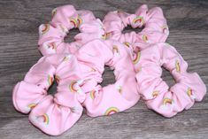 scrunchies Organizer scrunchies Packaging Pink with Rainbows Hair Sc. scrunchies Organizer scrunchies Packaging Pink with Rainbows Hair Scrunchie, Wrist Scru Gifts For Teens, Gifts For Her, Hair Product Organization, Crazy Hair, Rainbow Hair, Dance Outfits, Bun Hairstyles, Stretchy Material, Hair Ties