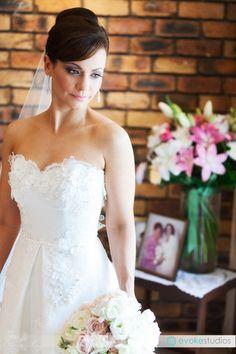 Paul Hunt designer gown. Amazing custom wedding dress