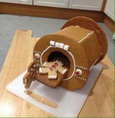 Gingerbread MRI scanner. I have no words.
