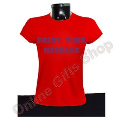 Coll-girls-t-shirts-red - roundneck