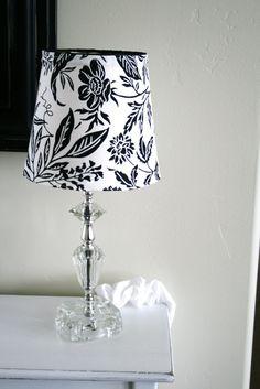 DIY Lampshade Slip Cover #slipcover #lampshade #freshenup #houseofsmiths