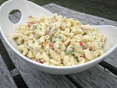 Hungry Couple: The Ultimate Macaroni Salad  ***Dreaming of a picnic!*****
