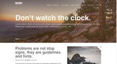 Ruby - A Creative WordPress Blog Theme Blog Layout, Page Layout, House Layouts, Premium Wordpress Themes, Lorem Ipsum, Presentation, Sayings, Creative, Instagram