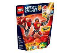 Lego Macy con Armadura de Combate