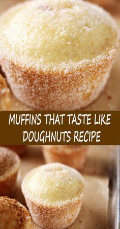 Donut Recipes, Muffin Recipes, Baking Recipes, Cookie Recipes, Dessert Recipes, Cupcake Recipes, Best Donut Recipe, Baking Breads, Just Desserts