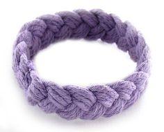 Sailor Knot Bracelet Purple