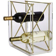 karl stacking wine rack | CB2