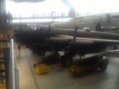 the iconic avro Lancaster bomber