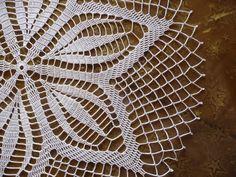 Items similar to Crochet doily handmade white cotton. Crochet Doily Rug, Crochet Borders, Filet Crochet, Cotton Crochet, Tablecloth Fabric, Crochet Tablecloth, Doily Patterns, Easy Crochet Patterns, Fabric Structure