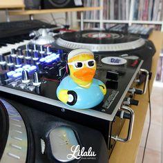"""I said a hip hop the hippie the hippie To the hip hip hop and you don't stop!"" #LILALU #LILALU_Aachen #LILALU_Shop #lilaluducks #sharehappiness #picoftheday #rubberduck #quietscheente #quietscheentchen #badeente #entchen #badespaß #ducks #bathduck #ducklove #DJ #djlife #prominEnte"