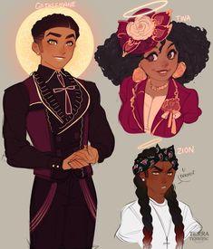 ✨TewwaTee✨ (@TerraTerrific) / Twitter Black Anime Characters, Cute Characters, Black Girl Art, Black Love Art, Boy Art, Art Girl, Pretty Art, Cute Art, Lotus Art