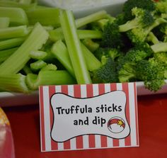 """Photo 1 of 32: Dr. Seuss / Baby Shower/Sip & See """"Thing one and Thing two twins baby shower"""" 