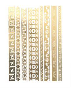 Egyptian Upper Arm Cuff, Gold Armbands, Armlet, Gold Upper Arm Bracelets…