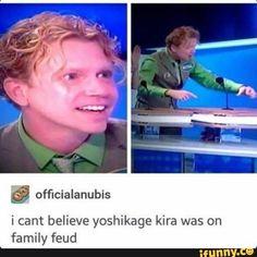 Jojo memes I guess Humor Haha Funny, Funny Memes, Jokes, Funny Shit, Hilarious, Jojo's Bizarre Adventure, Cowboy Bebop, Blue Exorcist, Yoshikage Kira