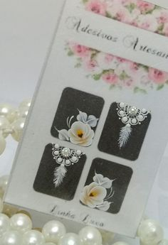 Nails First, White Nails, Nail Art Designs, Flamingo, Origami, How To Make, Suzy, Manicures, White Nail Beds