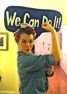 Rosie the Riveter | 46 Awesome Costumes For Every Hair Color
